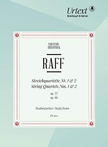 Streichquartett Nr. 1 d-moll und Nr. 2 A-dur - Breitkopf Urtext - Stimmensatz (PB 5622)