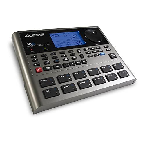 Alesis SR-18 | Studio-Grade Standalone Drum Machine With On-Board Sound Li-brary, Performance Driven...