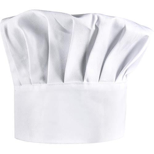 B & S Trendz Blanco Favor de Cocina de Fiesta Sombrero de Chef Panadero Barbacoa Cocina Accesorio