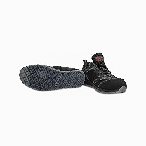 Cofra 78450-003.W43 Chaussures de sécurité Kress S1 P Esd SRC Taille 43, Noir