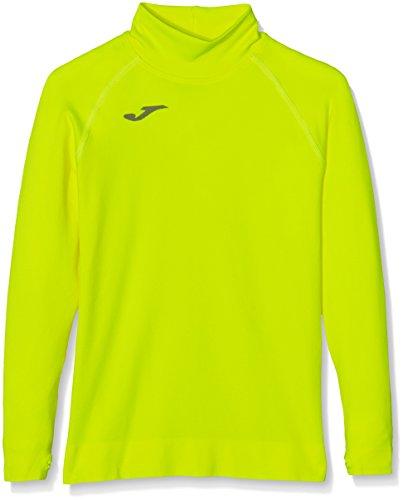 Joma Brama - Camiseta térmica para niños de 8-10 años, Color Amarillo