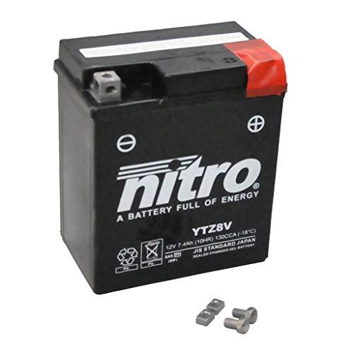 Batterie 12V 7,4AH YTZ8V Gel Nitro SH 125 JF14 05-08