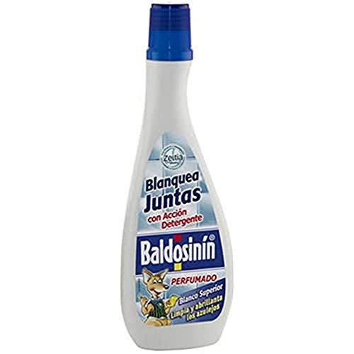BALDOSININ  Blanquea Juntas   Uso Directo con Bayeta  Contiene pigmentos Blanqueantes  Incorpora un Agradable Perfume   Contenido 375 ml