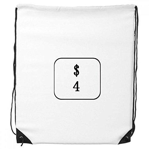 Keyboard-Symbol Windows 4 Kordelzug Rucksack Einkaufen Handtasche Geschenk Sporttaschen