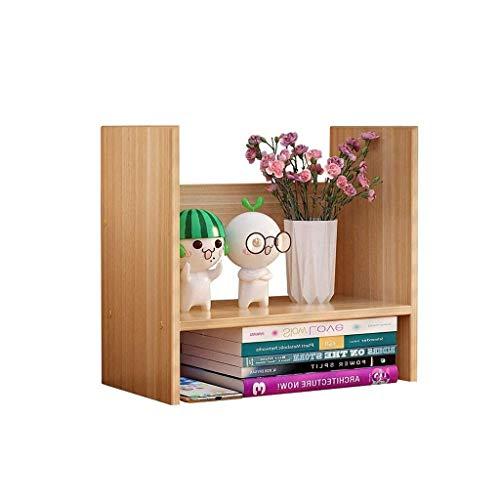 JJZXD Bookstands Estudiante de escritorio Receptáculo Estante simple multifuncional Oficina Estante de noche pequeña mesa Estantería