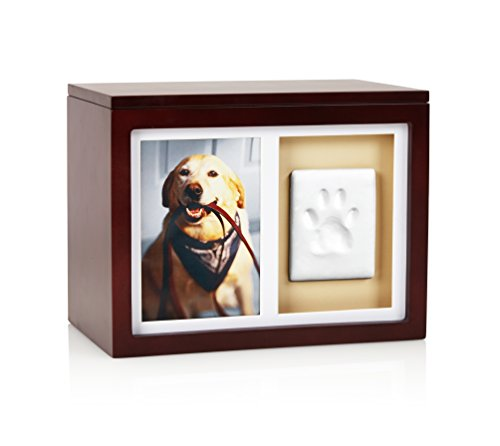 Pearhead Dog Or Cat Paw Prints Pet Memory Box With...