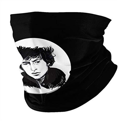 Top Wholesale Bob Musician Dylan Multifunctional Face Cover Headwear Neck Scarf Bandana Balaclava Tube Gaiter Stretch Snood Headband