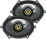 Best 5x7 Speakers - Kicker 46CSC684 CS-Series CSC68 6x8-Inch (160x200mm) Coaxial Speakers Review