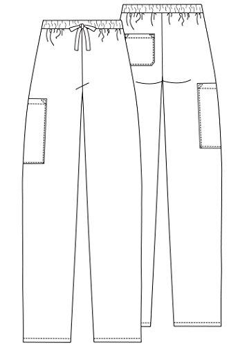Medizinische Schrubb-hosen – Unisex Krankenhaus-uniformhose 504 Color NVY | Talla: M - 5