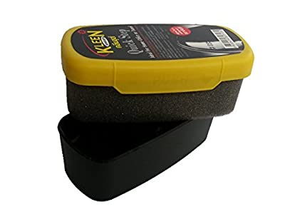 Kleen Shoes Quick Step : Instant Shoes Shine Sponge for all leather stuff and all leather colors : Great for home use and travel