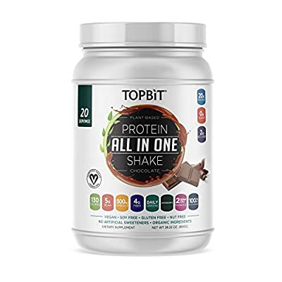 TOPBiT All-in-One Plant Based Protein Powder