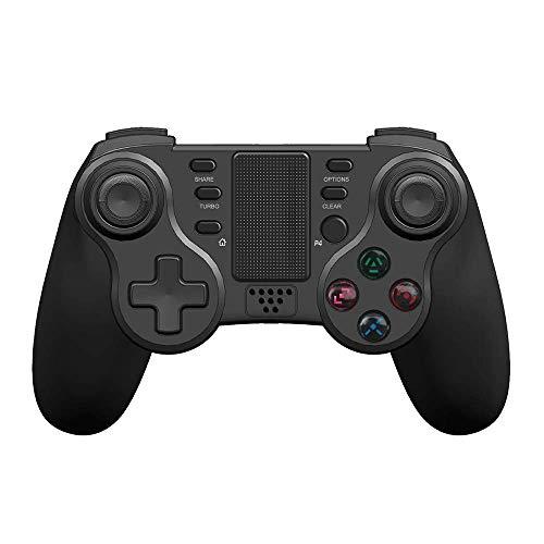 AILY PS4 Controlador, Gamepad Controlador inalámbrico para PS4 PC Smartphone Bluetooth Gamepad Palanca de Mando para PC / PS4 / Smart TV/Smartphone