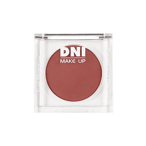 Sombras de ojos mate, Eye shadow velvet, 3gr · nº 13, color Rojo naranja, DNI MAKE UP