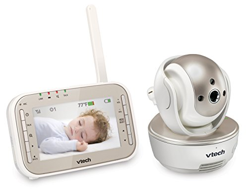 VTech VM343 Video Baby Monitor with Automatic...