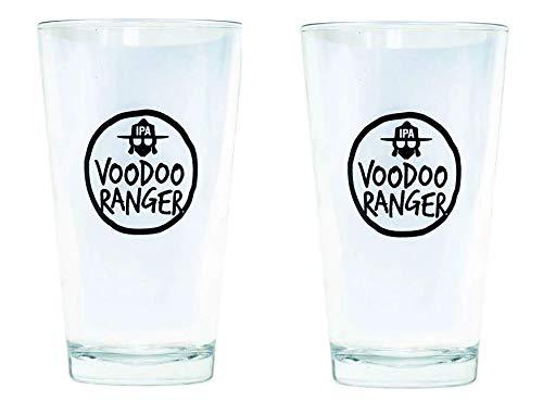 New Belgium Voodoo Ranger Pint Glass Set of 2