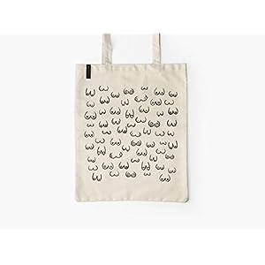 Baumwolltasche – BUSENFREUNDE natur – typealive – Stofftasche mit langen Henkeln, lustigem Motiv, perfekt zum Einkaufen…