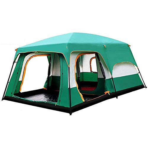 DWLXSH Camping Tent,2-8 Persons Lightweight Backpacking Tent Waterproof Doors,Easy Setup,for Family In Traveling,Beach,Camping and Outdoor Activity