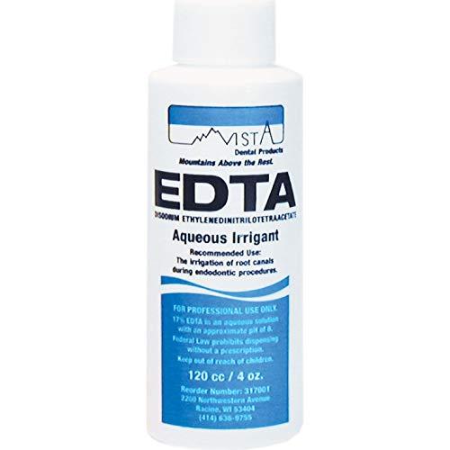 EDTA Cleanser 17% Aqueous EDTA Solution 120 mL Liquid Bottle Ea