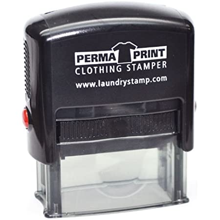 PermaPRINT Clothing Stamper with Black Ink