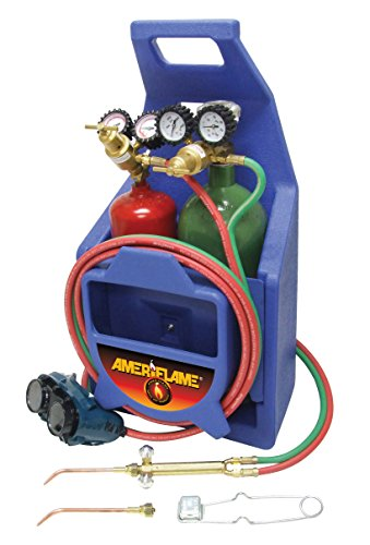 Ameriflame T100AT Medium Duty Portable Welding/Brazing Outfit with Plastic Carrying