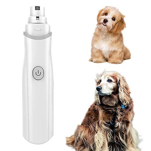 Ultra stil Pet Nail Grinder, draagbare elektrische Dog Nail File Trimmer met 3 Ports slijpstenen, voor Honden Katten Konijnen Gentle Claw Care