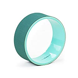 SAMSARA Yoga Wheel, grün, 32 x 13 cm, Yoga Rad, Yoga-Zubehör, Yoga Ring, vielseitig einsetzbares Yoga-Hilfsmittel