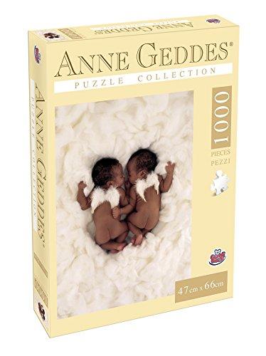 Grandi Giochi gg90108–Puzzle Anne Geddes 1000Stück, Angels