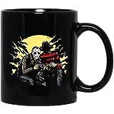 Freddy vs Jason Play Game Jason Voorhees y Freddy Krueger Película divertida Tazas de café Tazas de terror Halloween Cine