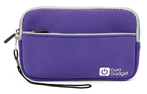 Save %22 Now! DURAGADGET Purple Water Resistant Cover w/Front Storage & Twin Zip - Compatible with S...