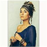 QQWER Naomi Campbell Poster Leinwandbilder Poster Und