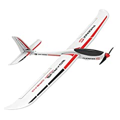 PhoenixS gliders with 1.6m wings have good performance and povide a quick and easy way to experience the thrill of RC soaring or relax with a quick flight. The fuselage has the capacity for an FPV camera and related components. INNOVATIVE UNIBODY PLA...
