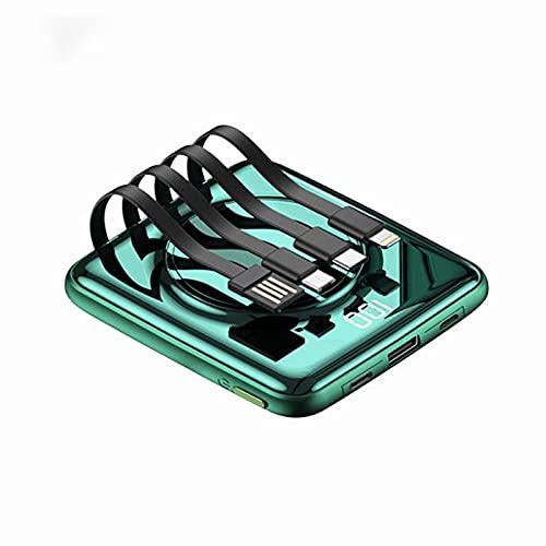 GAOword Premium Mini Charger Portable Power Bank 20000mah La batería Ultra compacta más pequeña y más Ligera Adecuada para iPhone Samsung, etc.
