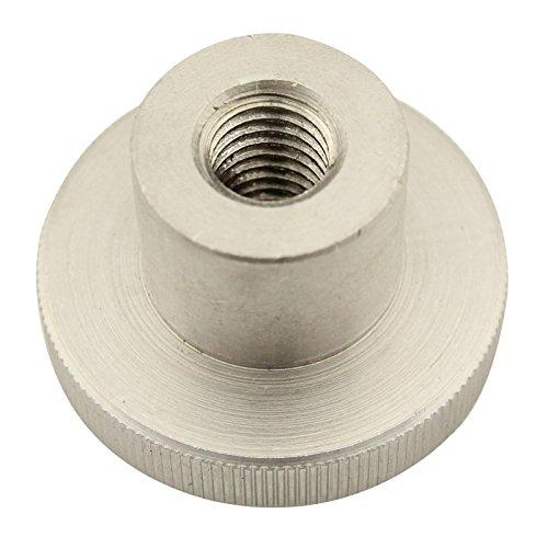 Rändelmuttern (hohe Form) - M8 - (2 Stück) - DIN 466 - rostfreier Edelstahl A1 (VA) / NIRO - SC466 | SC-Normteile