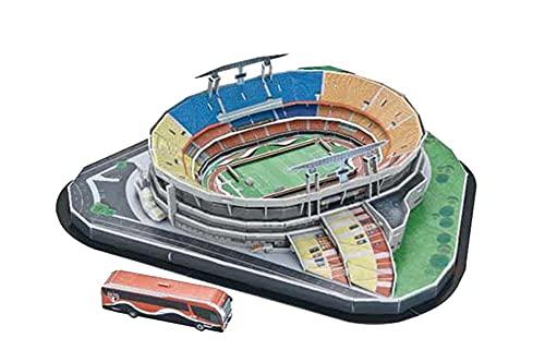SY-Home Das Weltberühmte Stadion-Puzzle-Modell Morumbi Stadium, Das Heimstadion des Sao Paulo Football Club Der Brasilianischen Fußballliga 3D-Modellspielzeug