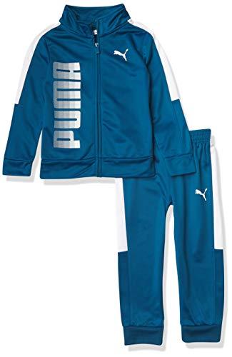 PUMA Jungen Track Jacket & Jogger Jogginganzug, blau, 2 Jahre