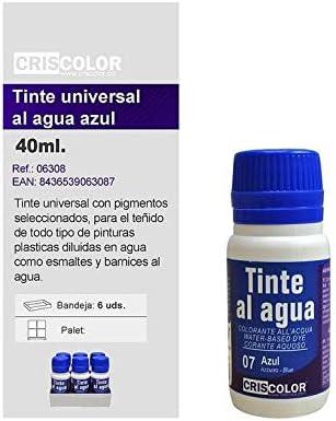 Criscolor 41555, Tinte Universal, AZUL: Amazon.es: Hogar