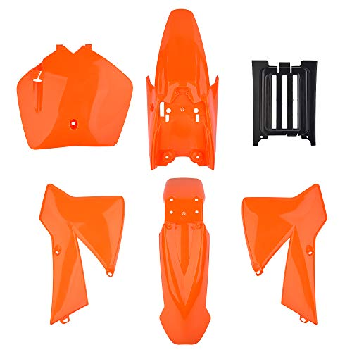 Mercado de consumidores, de plástico, kit de cuerpo de repuesto para MT50 MTK50 Mini Adventure 2002-2008 50SX Junior 50cc/1997-2010 50/2003-2008 50SX/2003-2008 50SX Junior/200SXMini. Naranja