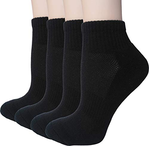 Women's Athletic Low Ankle Quarter Cushion Socks