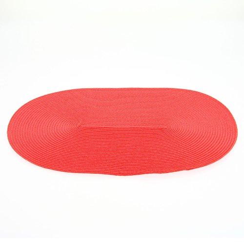 Secret de Gourmet - Set de Table Ovale Rouge