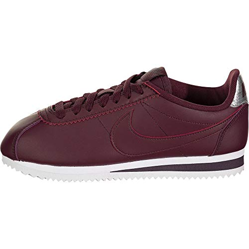 Nike Classic Cortez, Zapatillas de Running Mujer, Night Maroon/Night Maroon/Burgundy Ash