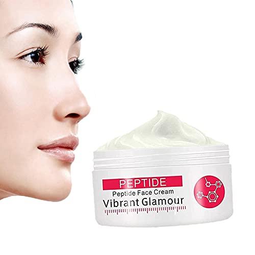 1/2/3 PCS Colágeno Crema Facial Pura Crema Hidratante Antienvejecimiento Vibrante Glamour Rebobinado para Reduce las Líneas Secas y las Líneas Finas Mejora la Firmeza de la Piel