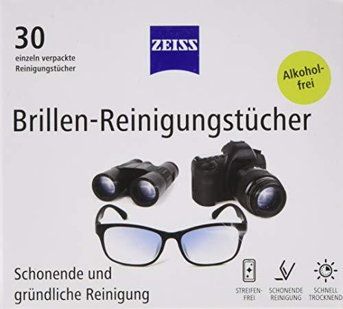 Zeiss Brillen-Reinigungstücher, 3er Pack (3 x 30 Stück)
