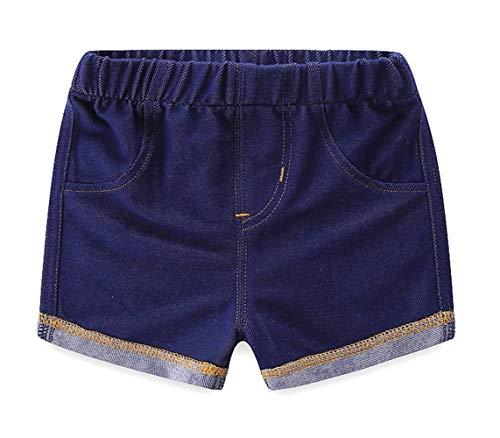Happy Cherry Baby Denim Korte Broeken Kinderen Zomer Korte Broeken Elastische Taille Jeans Short