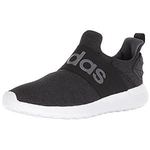 adidas Men's Lite Racer Adapt Running Shoe, Black/Core Black/Grey, 11 M US