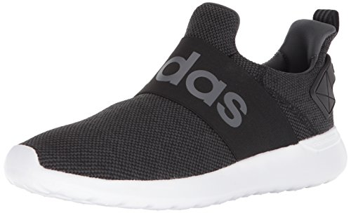 adidas Men's Lite Racer Adapt Running Shoe, Black/Core Black/Grey, 10.5 M US