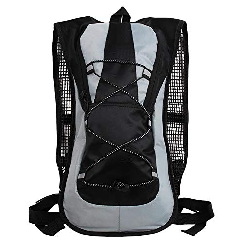 Jeffyo Cycling Backpack Biking Backpack Daypack Bike Rucksack Cycling Rucksack For Outdoor Sports Running Travelling Mountaineering Ultralight Breathable Pack Unisex Black