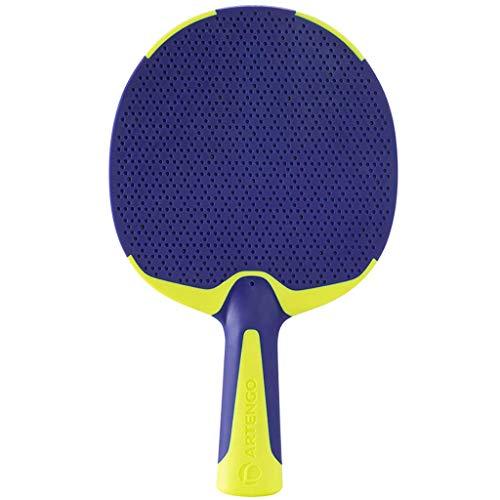 GEREP Raquetas de Ping Pong Para actividades familiares, niños al aire libre, principiantes Juego de Paleta de Ping-Pong, materiales de protección ambiental/B