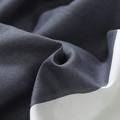 Emoshayoga Sábana Ajustable de teñido de protección del Medio Ambiente para colchón de 4-27 cm / 1,6-10,6 Pulgadas de Altura(Single Piece Bed Sheet 180 * 200)
