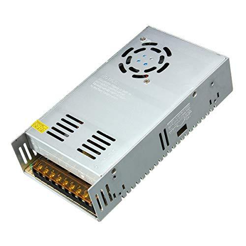 XAOBNIU Fuente de alimentación de conmutación 400W 8.3A-33.3A Monitoreo de Soporte Transformador LED iluminación (Color : 60V)