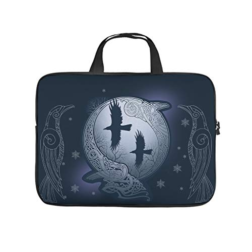 Viking Ravens Laptop Bags Durable Tablet Bag Suitable for Outdoor Use in 5 Sizes